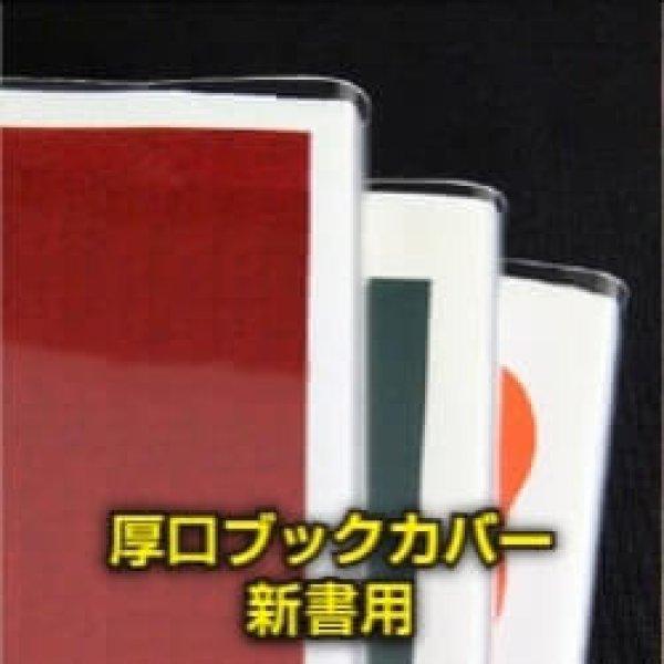画像1: #40 厚口透明ブックカバー 新書実用書用【100枚】 (1)