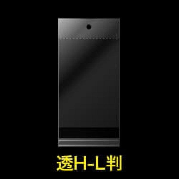 画像1: #30 OPP袋 透明ヘッダー付写真L判用 91x130+30+30【100枚】 (1)