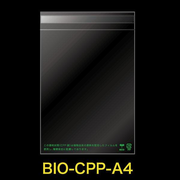 画像1: 【シーピーピー】#30 バイオマスCPP袋テープ付 A4用【100枚】 (1)
