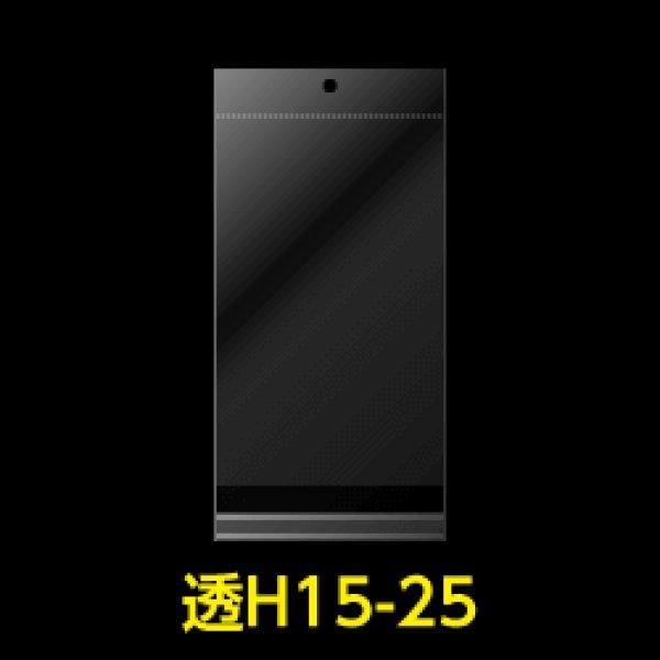 画像1: #30 OPP袋 透明ヘッダー付 150x250+30+30【100枚】 (1)