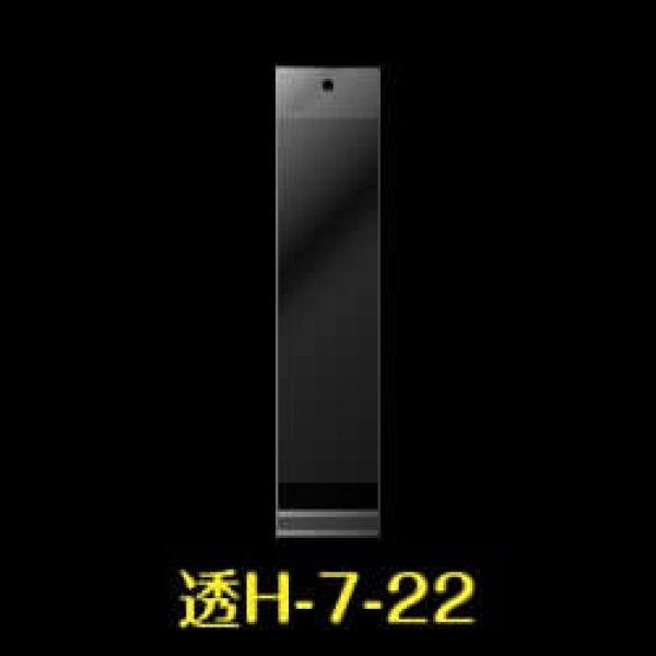 画像1: #30 OPP袋 透明ヘッダー付 70x220+30+30【100枚】 (1)