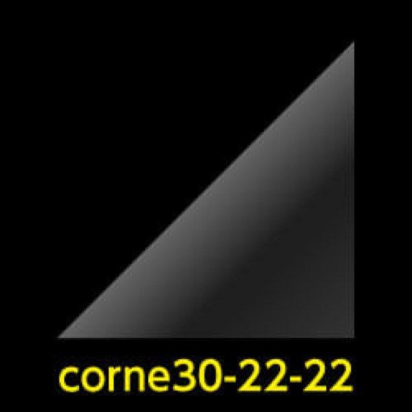 画像1: #30 アイシングクッキー用コルネ(OPP三角シート) 220x220【100枚】 (1)