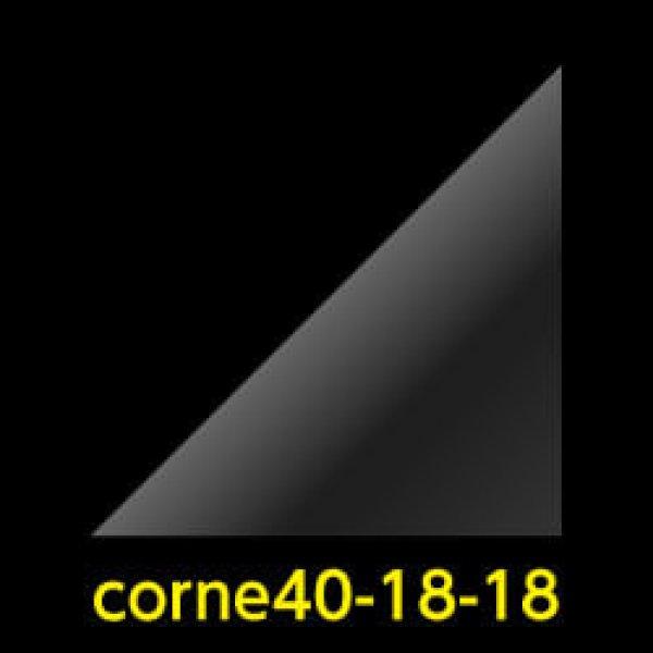 画像1: #40 アイシングクッキー用コルネ(OPP三角シート) 180x180【100枚】 (1)