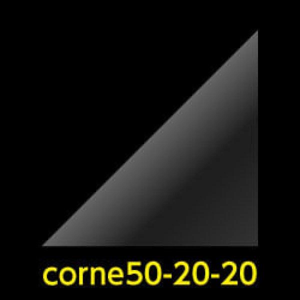 画像1: #50 アイシングクッキー用コルネ(OPP三角シート) 200x200【100枚】 (1)